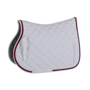 Torpol Sport elegant nyeregalátét, fehér