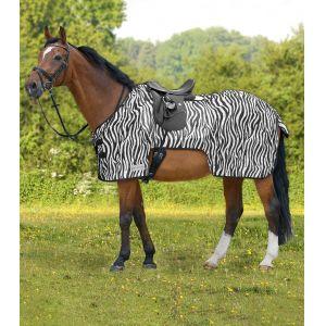 Waldhausen zebra mintás légytakaró lovagláshoz