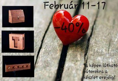 Valentin-heti akció!